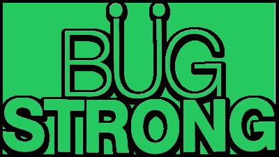 Bug Strong Cricket Powder Logo